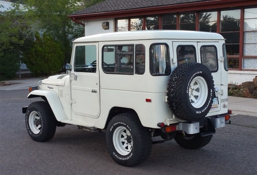 1979 Toyota Original Condition FJ40 Rust Free Loaded: Air & PS