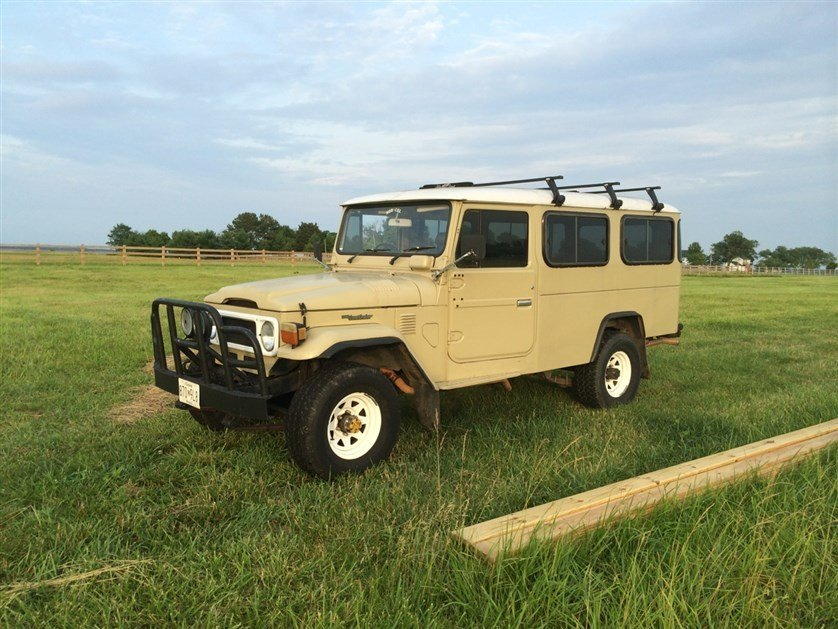 1982 Toyota FJ45 TROOPY POWER STEERING