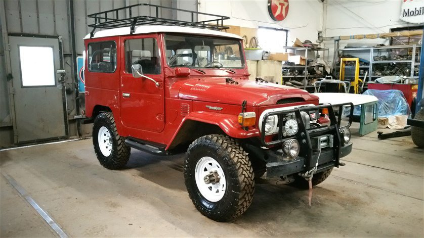 1976 Toyota STOCK FJ40 WITH UPGRADES SOCAL