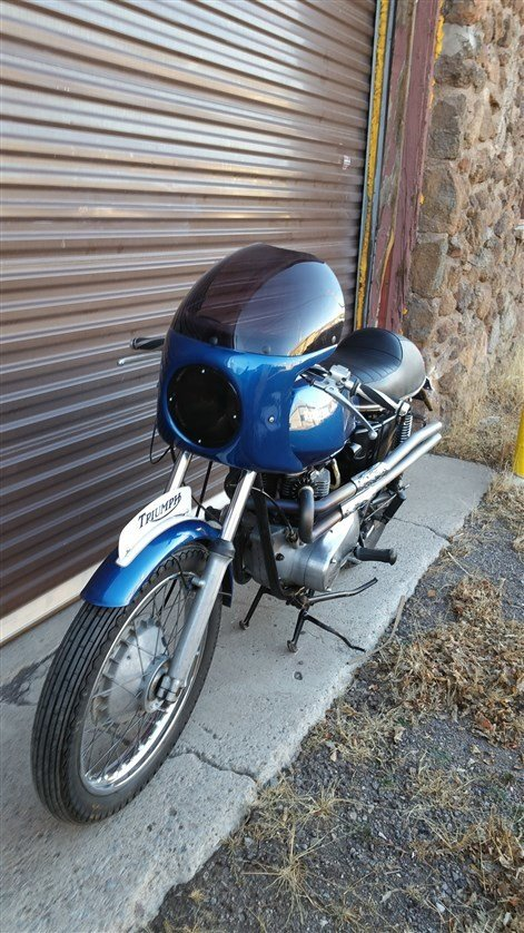 1971 Triumph 650cc Tiger Cafe