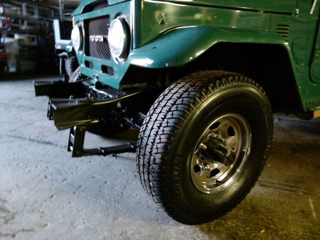 1977 Toyota FJ40 STOCK RESTORATION REPAINT ALMOST FINISHED