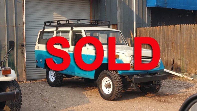 1969 TOYOTA FJ55 WAGON for sale #78738 | MCG
