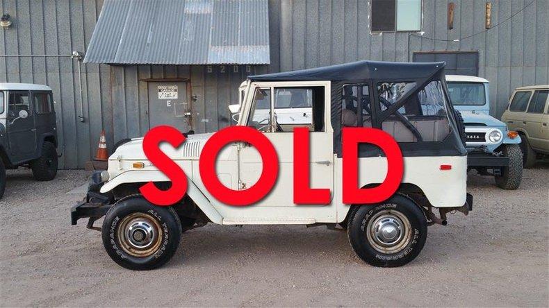 1971 Toyota FJ40 For Sale