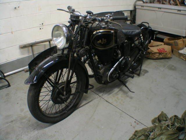 1939 AJS SILVER STEAK