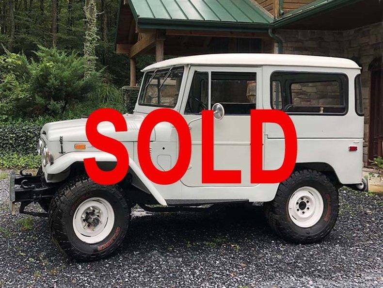 1972 Toyota FJ40 For Sale