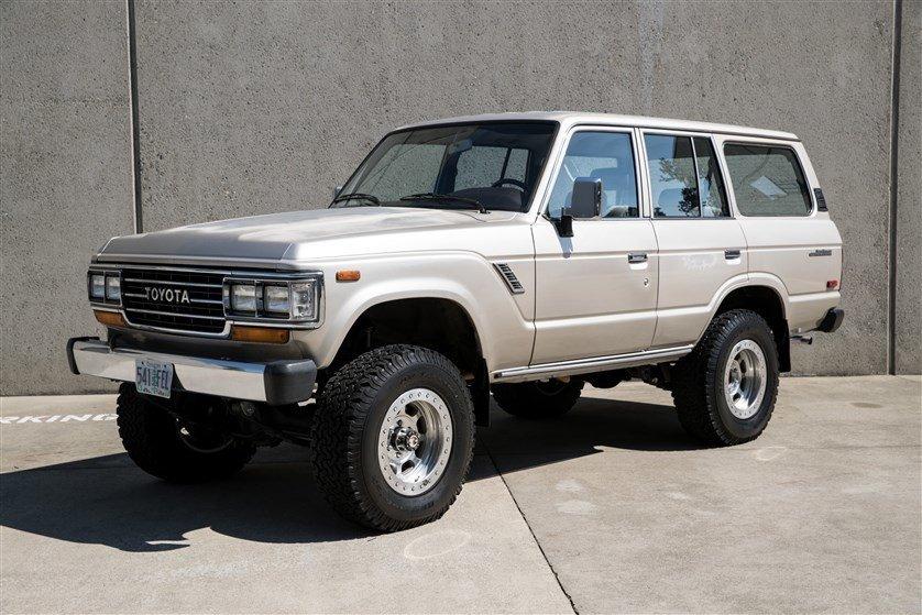 1989 Toyota FJ62 4 DOOR WAGON