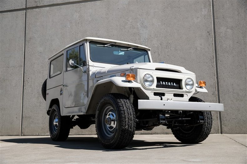 1970 Toyota FJ40 BODY OFF RESTORATION for sale #111560 | Motorious