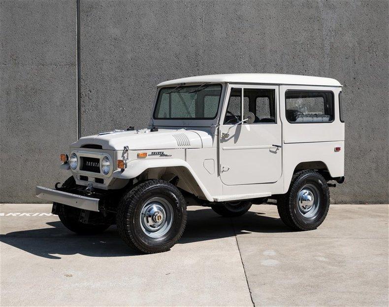 1970 Toyota FJ40 BODY OFF RESTORATION For Sale