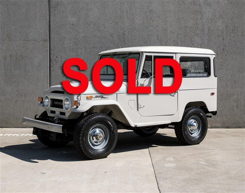 1971 Toyota FJ40 BODY OFF RESTORATION For Sale