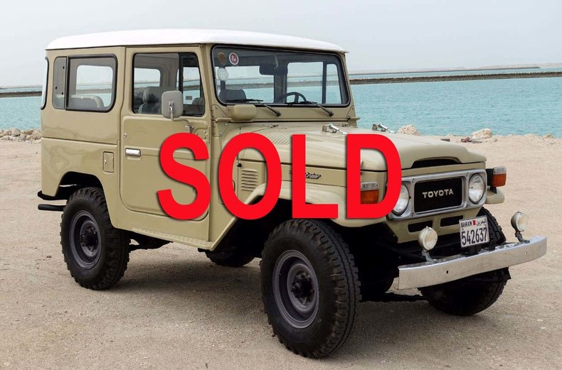 1980 Toyota FJ40 For Sale