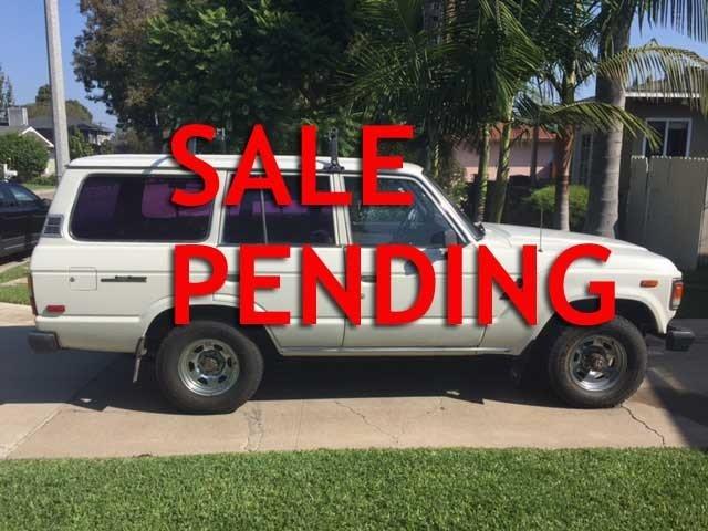 1986 Toyota FJ60 For Sale
