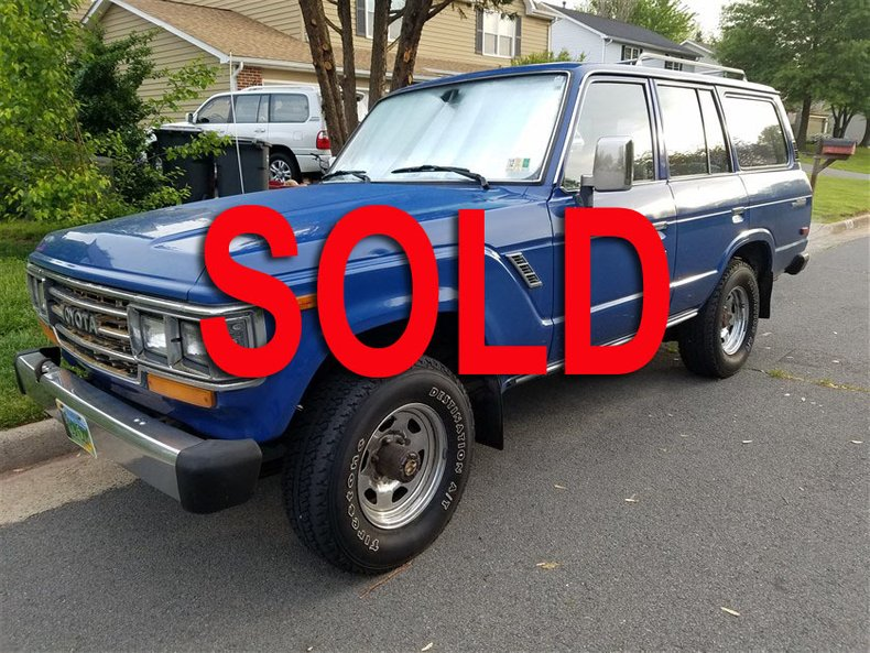 1989 Toyota FJ62 4 DOOR WAGON For Sale