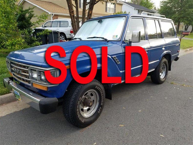 1989 Toyota FJ62 4 DOOR WAGON For Sale
