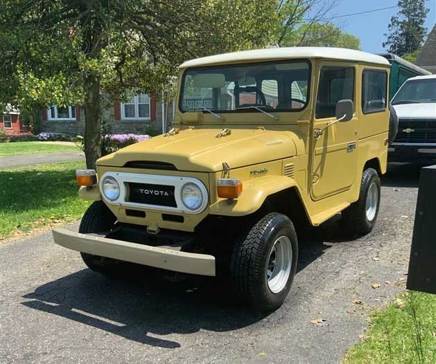 1976 Toyota FJ40 For Sale