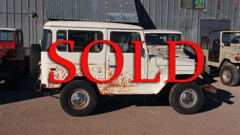 1977 Toyota FJ40 For Sale