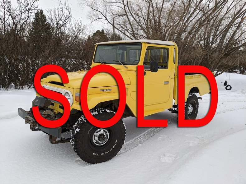 1977 Toyota FJ45 LHD CANADIAN PICKUP NICE! For Sale