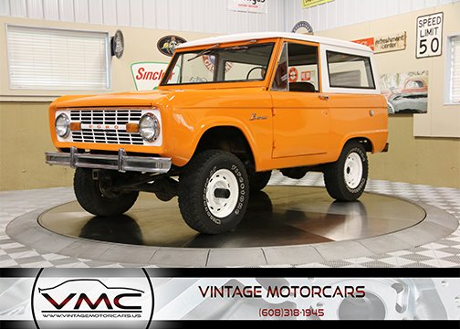 1968 Ford Bronco 4WD