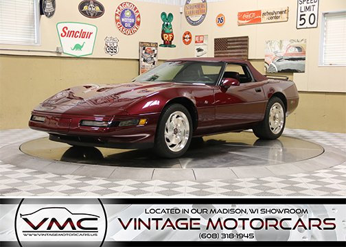 1993 chevrolet corvette convertible 40th anniversary edition