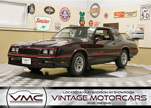 1986 Chevrolet Monte Carlo SS For Sale