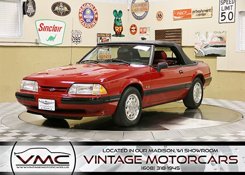 1989 Ford Mustang LX 5.0 For Sale