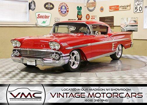 1958 chevrolet impala resto mod
