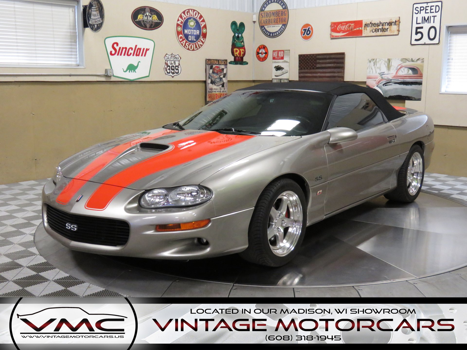 2002 chevrolet camaro ss berger convertible