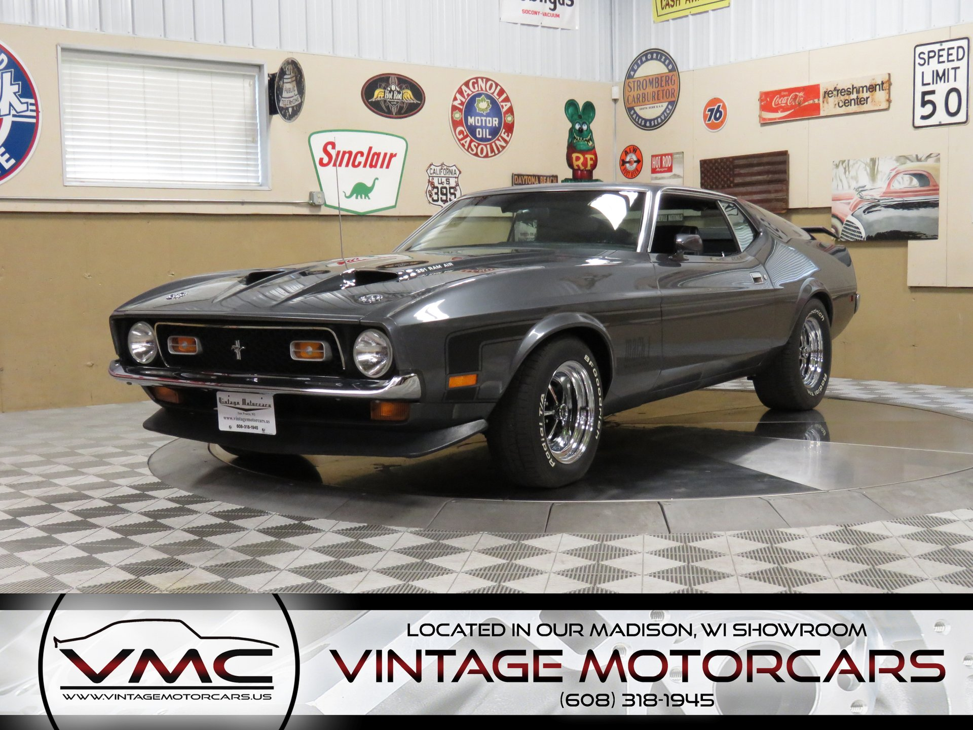 1971 ford mustang mach 1 m code