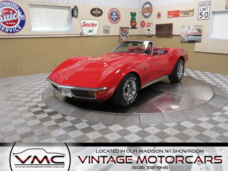 1972 Chevrolet Corvette Convertible For Sale
