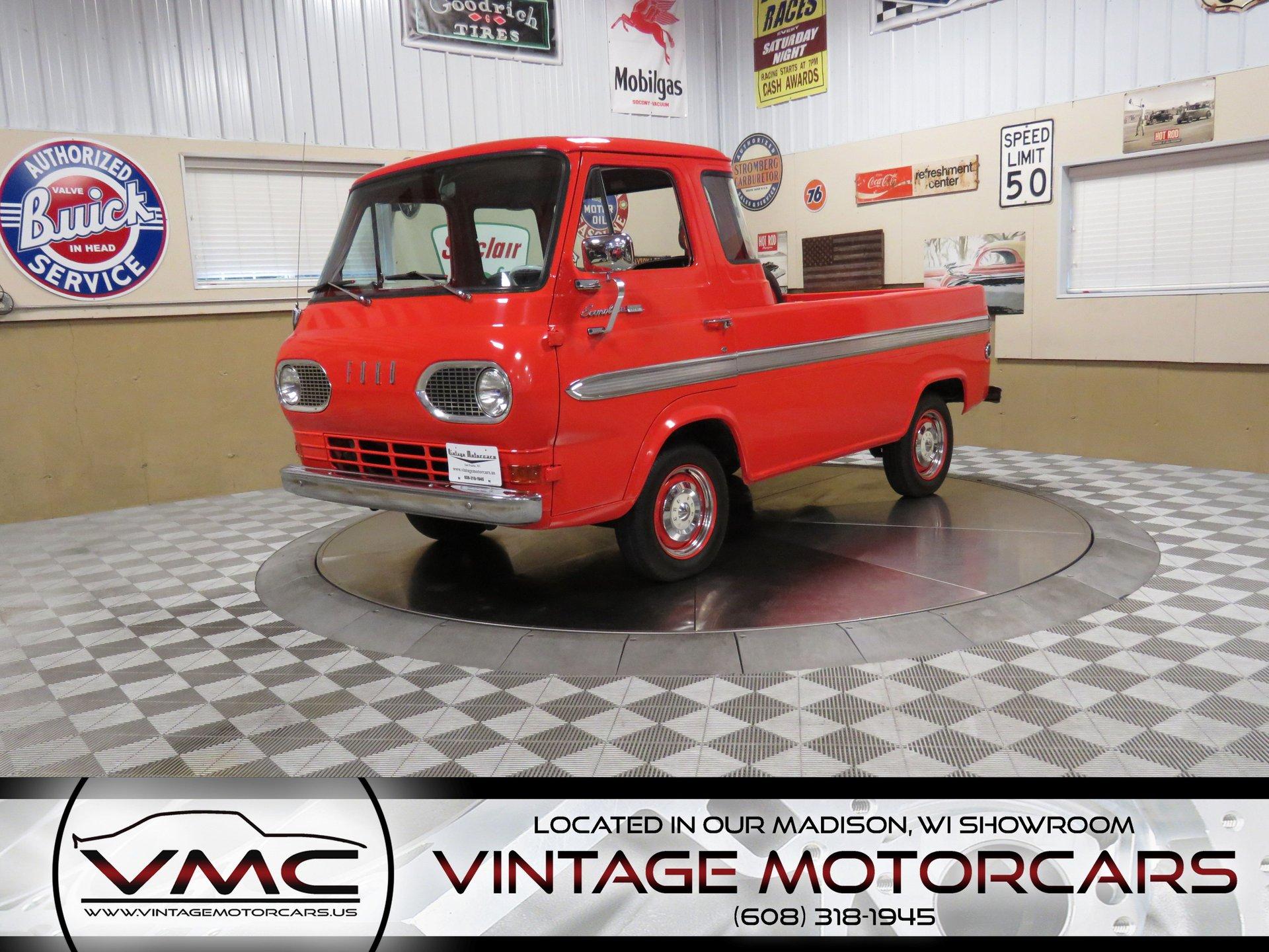 1962 ford e100 pickup