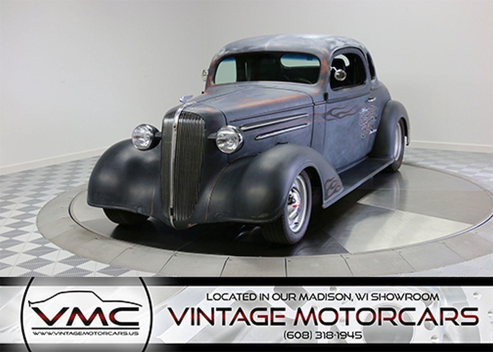 1936 chevrolet 5 window coupe