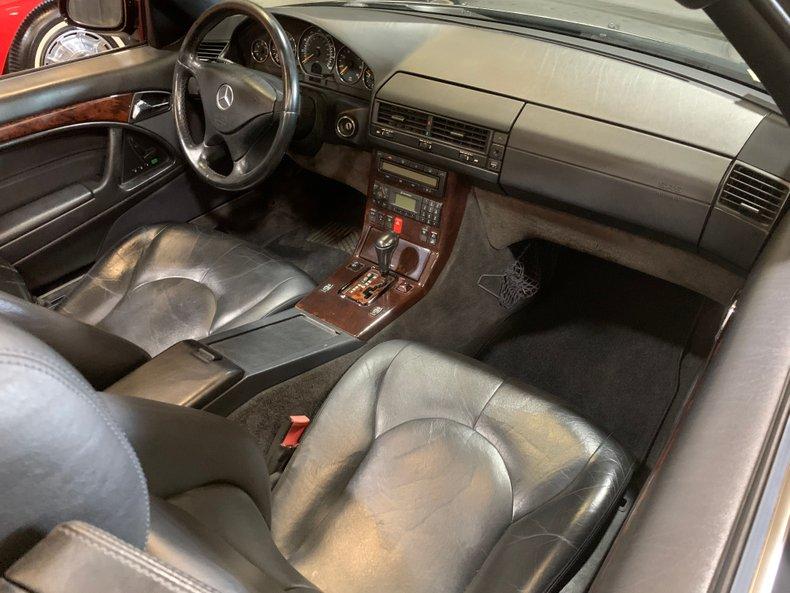 2001 Mercedes-Benz SL500R