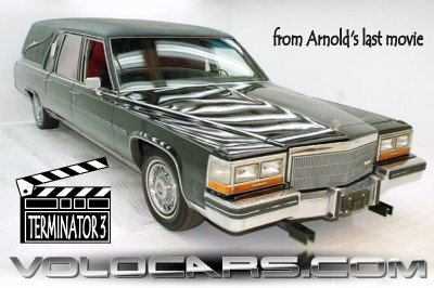 1981 Cadillac Terminator 3 Movie Hearse