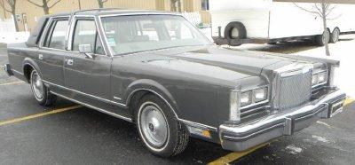 1981 lincoln