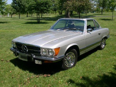 1972 benz 350 sl