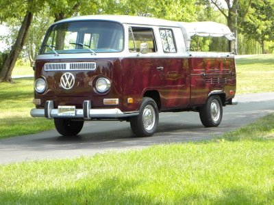 1971 volkswagen crewcab