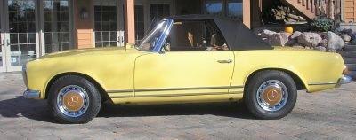 1969 mercedes benz 280 sl