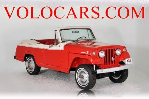 1968 kaiser jeepster