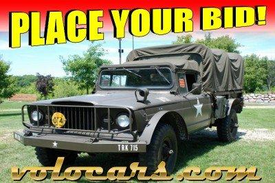 1967 kaiser 1 1 4 ton military jeep
