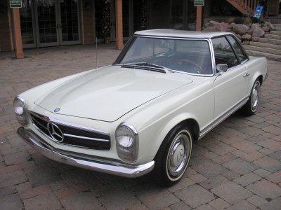 1966 mercedes benz