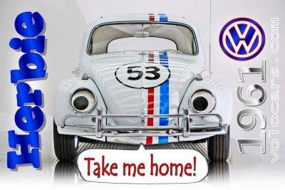 1963 volkswagen beetle herbie fully loaded