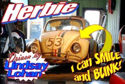 1961 volkswagen beetle herbie fully loaded