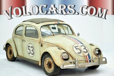 1960 volkswagen beetle herbie fully loaded