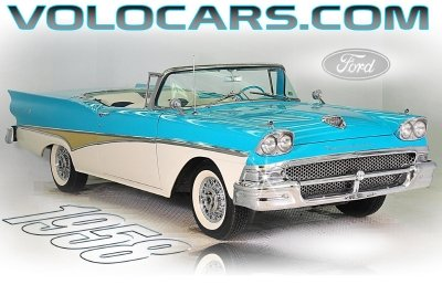 1958 Ford Skyliner | Volo Auto Museum