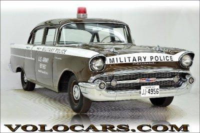 1957 chevrolet police car