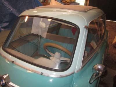 1957 bmw isetta 600