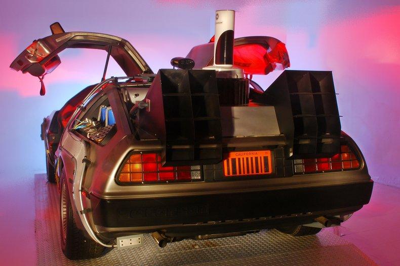1981 DeLorean Time Machine