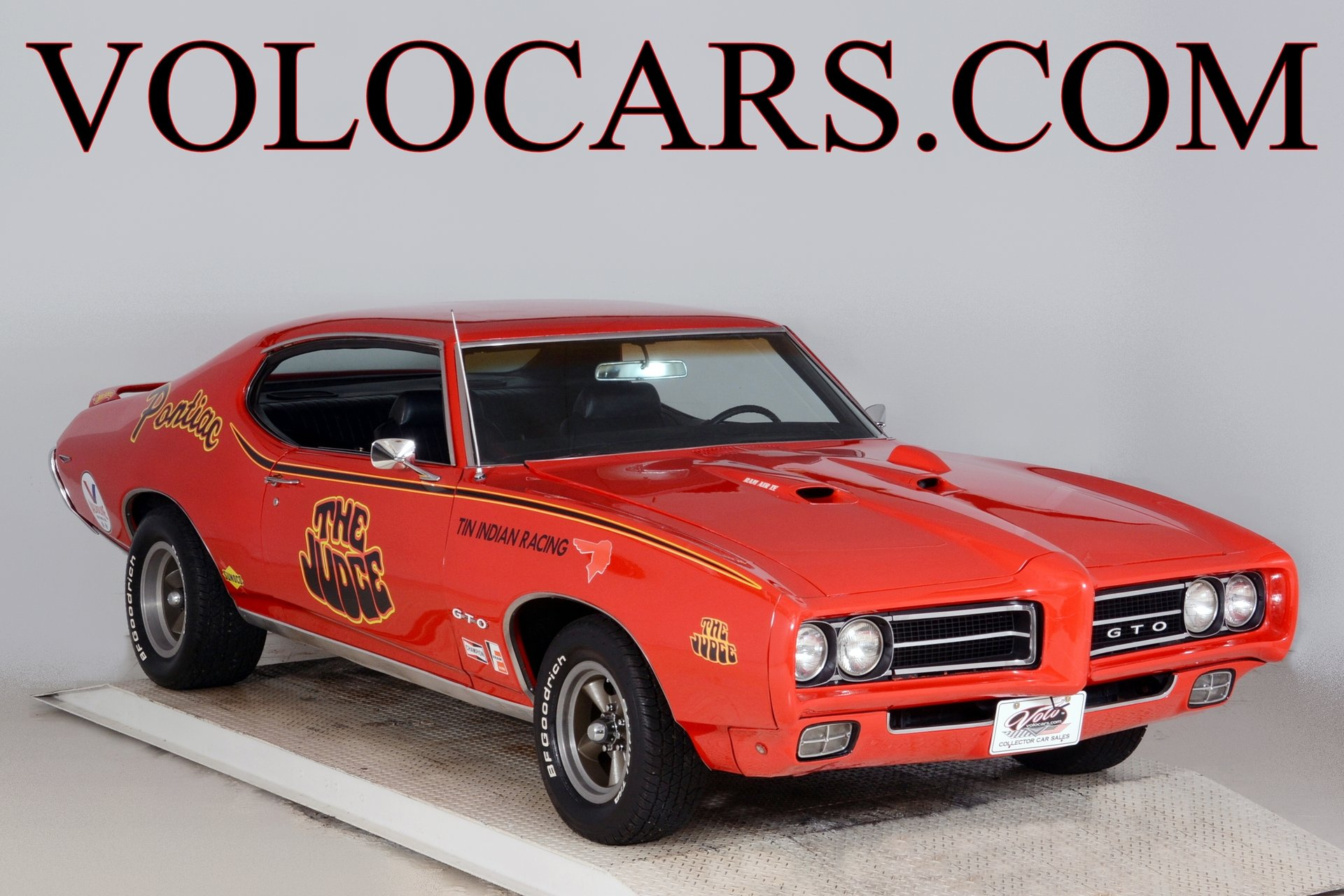 1969 pontiac gto judge tribute