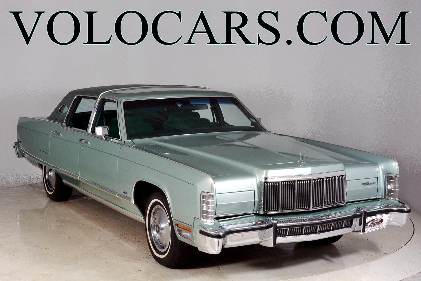 1976 Lincoln Continental Volo Auto Museum