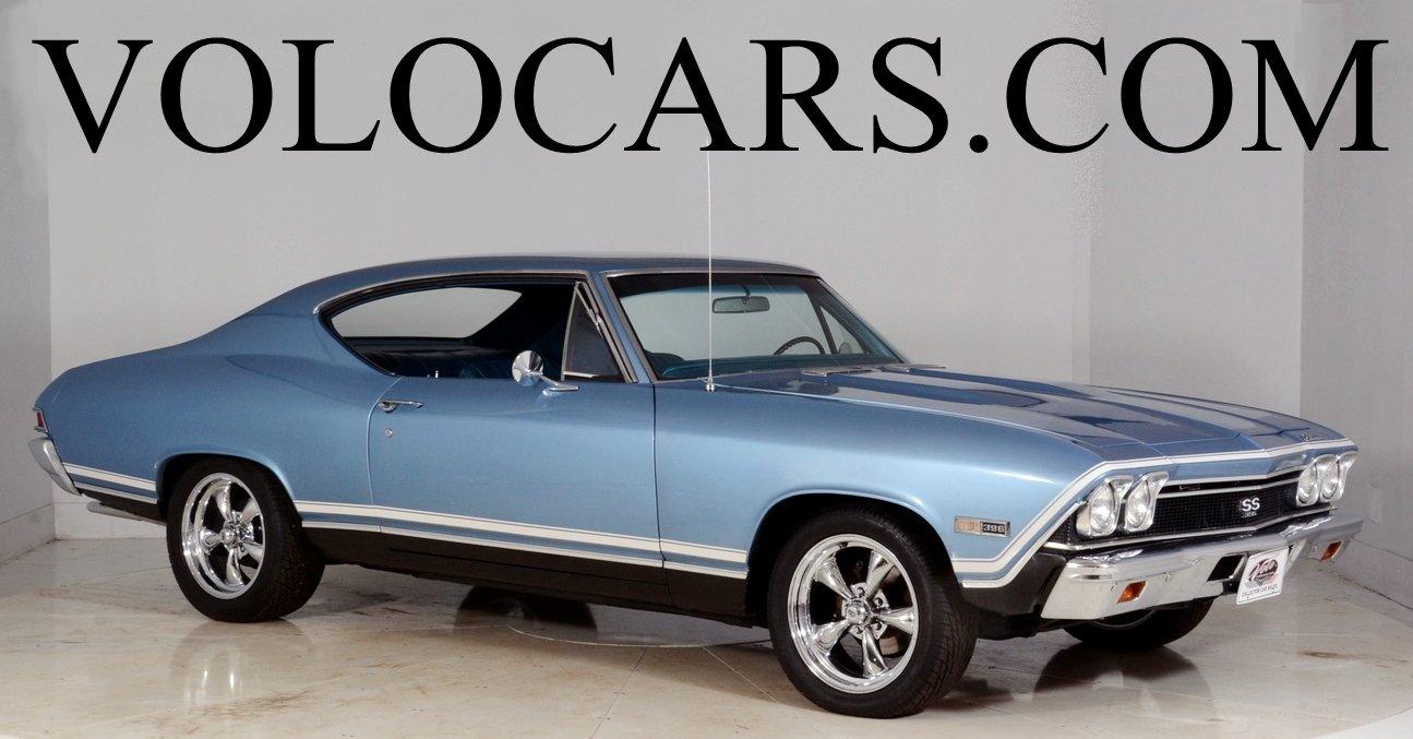 1968 Chevrolet Chevelle Volo Auto Museum Ss