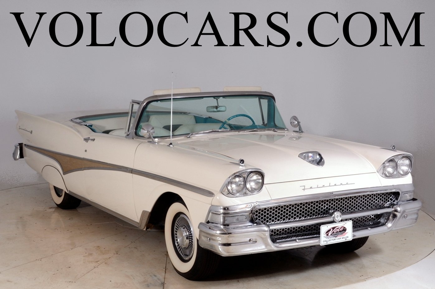 1958 ford sunliner retractable